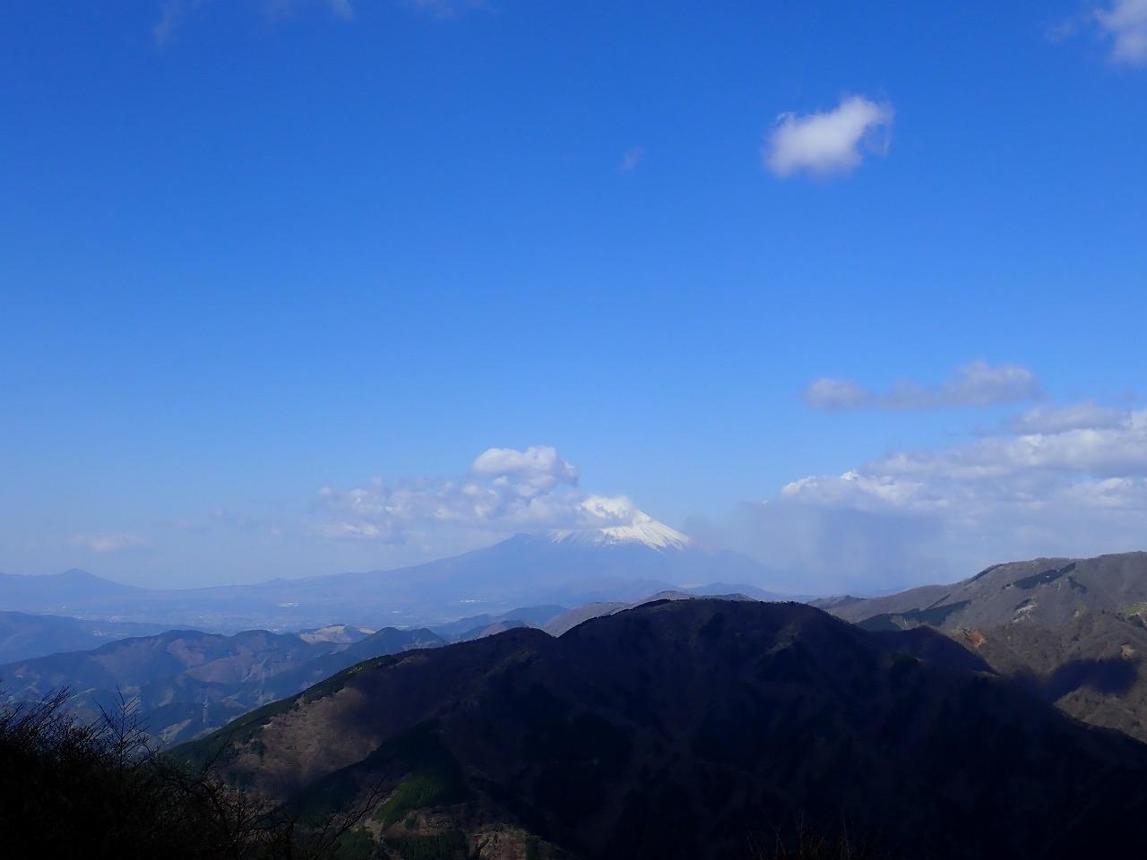 大山 富士山