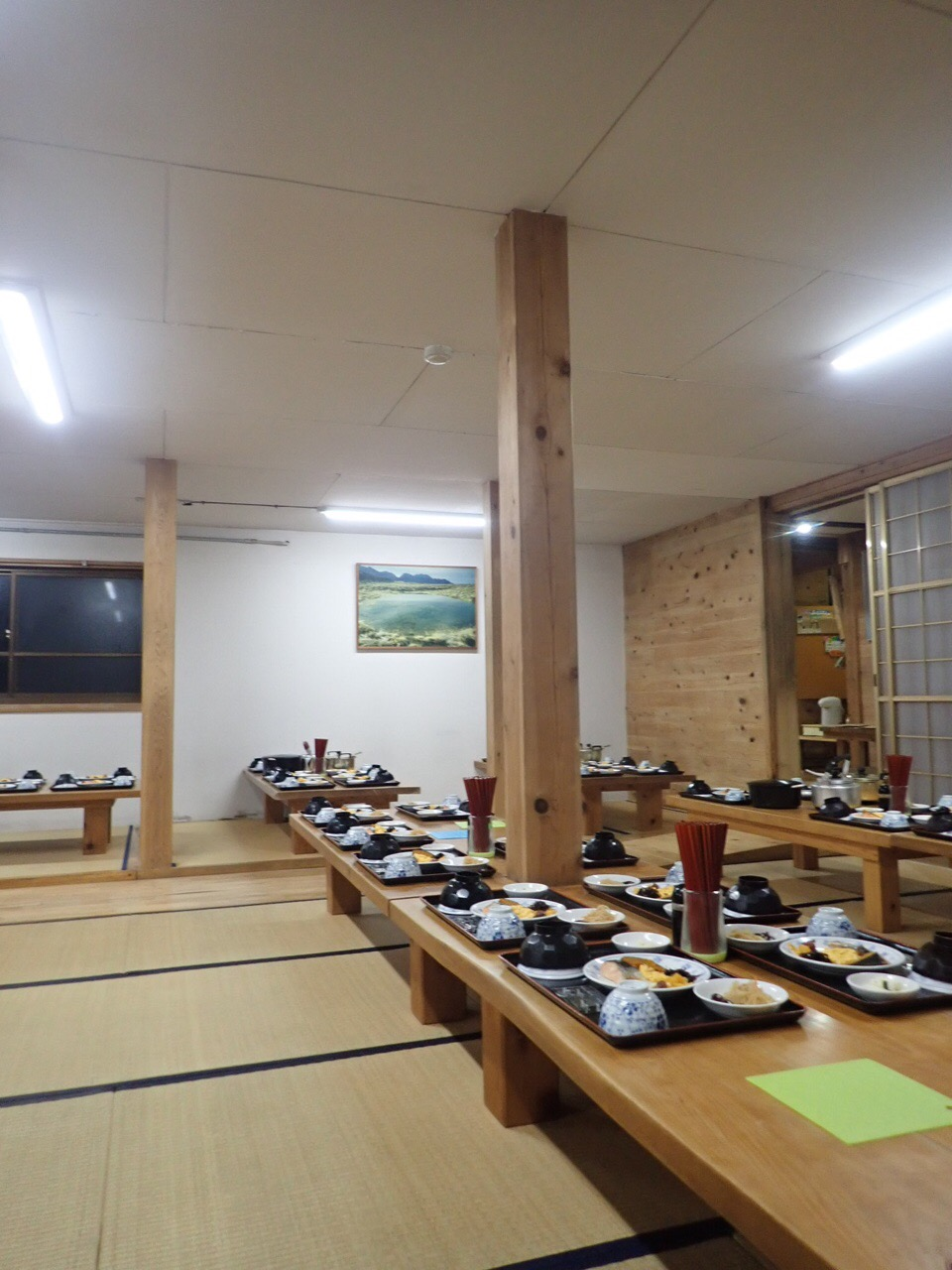 双六小屋 食堂