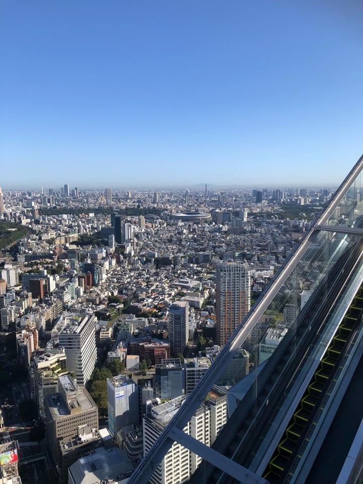 渋谷 SKY STAGWE ヨガ